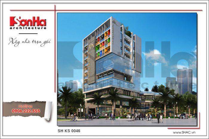 Mẫu thiết kế khách sạn đẹp 3 sao được yêu thích và đánh giá điển hình xu hướng mới nhất