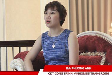 Phát biểu của CĐT Phương Anh - Biệt thự Vinhomes Thăng Long Hà Nội 1