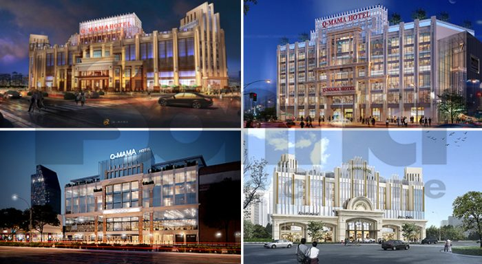 SHAC còn tham gia dự án thiết kế khách sạn đẹp 5 sao nghìn tỉ Q-mama tại Sài Gòn