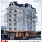1 Thiết kế kiến trúc khách sạn tân cổ điển pháp tại vũng tàu sh ks 0051