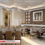 2 Mẫu nội thất khu buffet khách sạn 3 sao tại vũng tàu sh ks 0051