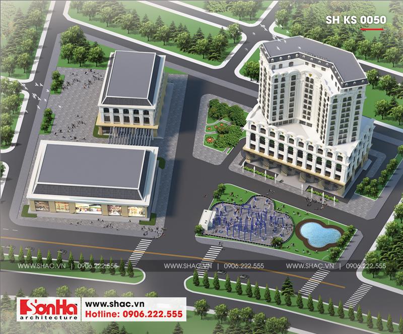 Mẫu thiết kế khách sạn tân cổ điển tiêu chuẩn 4 sao tại Quảng Ninh – SH KS 0050 3