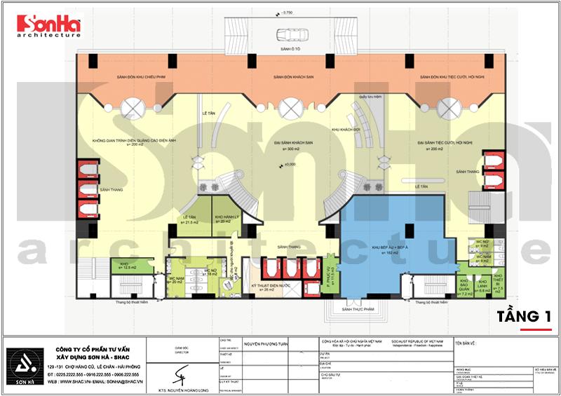 Mẫu thiết kế khách sạn tân cổ điển tiêu chuẩn 4 sao tại Quảng Ninh – SH KS 0050 5