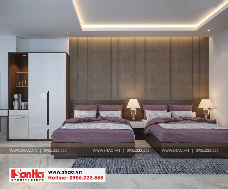 Thiết kế khách sạn tân cổ điển tiêu chuẩn 3 sao tại Vũng Tàu – SH KS 0051 15