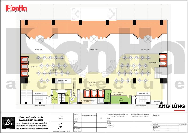 Mẫu thiết kế khách sạn tân cổ điển tiêu chuẩn 4 sao tại Quảng Ninh – SH KS 0050 6