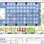 7 Mặt bằng công năng tầng 2 khách sạn tân cổ điển 4 sao tại quảng ninh sh ks 0050