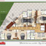 7 Mặt bằng công năng tầng 4 khách sạn tân cổ điển tại vũng tàu sh ks 0051