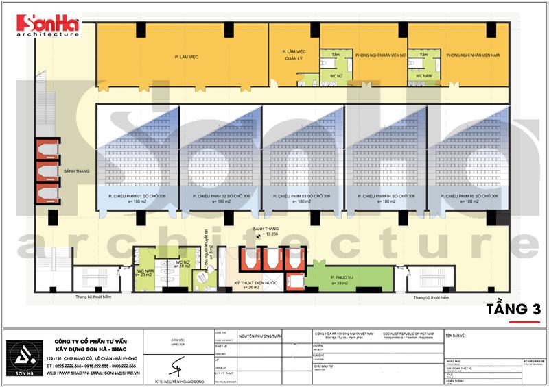 Mẫu thiết kế khách sạn tân cổ điển tiêu chuẩn 4 sao tại Quảng Ninh – SH KS 0050 8