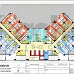 9 Mặt bằng công năng tầng 4 khách sạn tân cổ điển 4 sao tại quảng ninh sh ks 0050