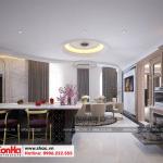 9 Thiết kế nội thất phòng khách bếp khách sạn 3 sao tại vũng tàu sh ks 0051