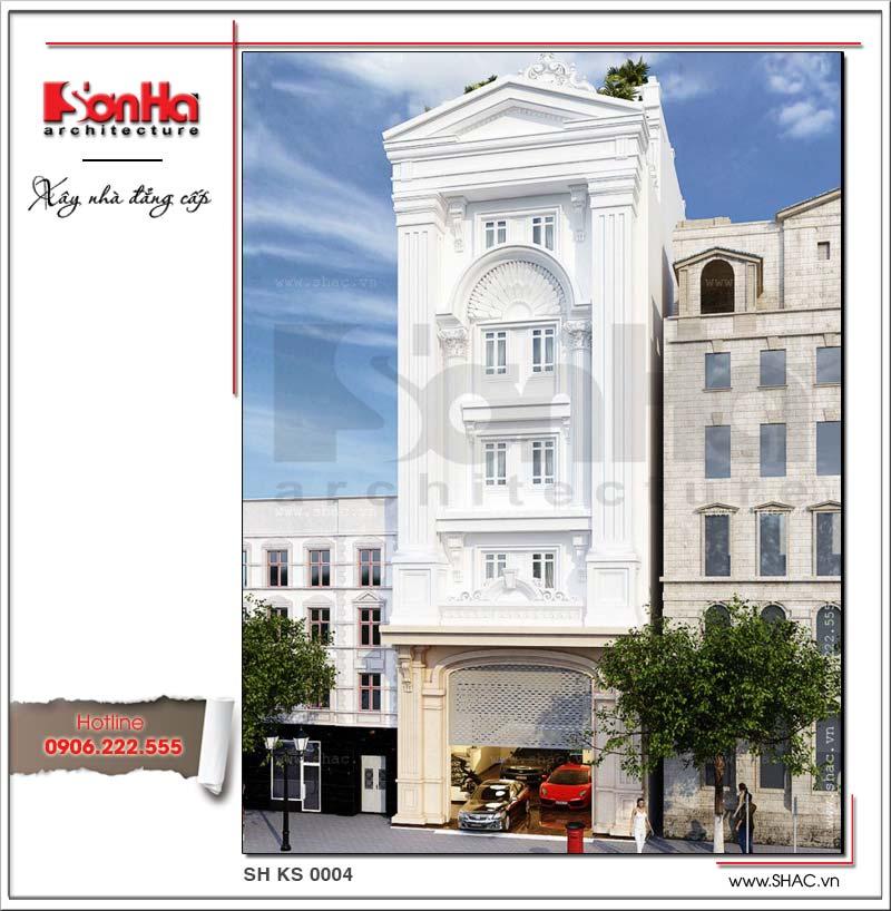 Thêm một ví dụ trong thiết kế khách sạn 2 sao điển hình xu hướng mới nhất năm