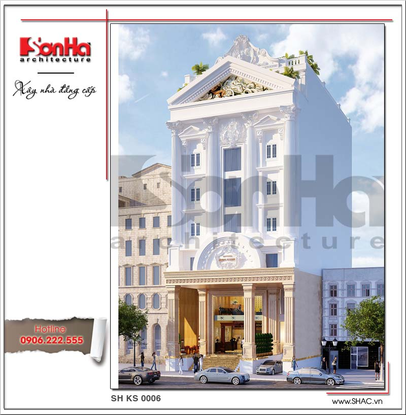 Ý tưởng tham khảo được đánh giá cao của mẫu thiết kế khách sạn tiêu chuẩn 2 sao