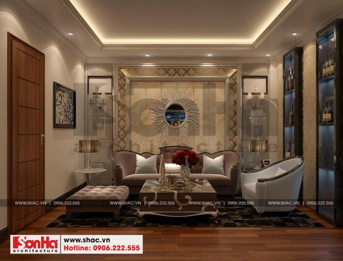 Thiết kế nội thất phòng hát phong cách cổ điển sang trọng tinh tế