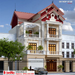2 Mẫu kiến trúc nhà phố cổ điển tại hải phòng sh nop 0158