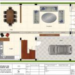 4 Mặt bằng công năng tầng 1 nhà ống pháp tại hải phòng sh nop 0158