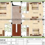 5 Mặt bằng công năng tầng 2 nhà phố cổ điển tại hải phòng sh nop 0158