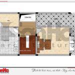 8 Mặt bằng công năng tầng tum nhà phố hiện đại tại hải phòng sh nod 0182