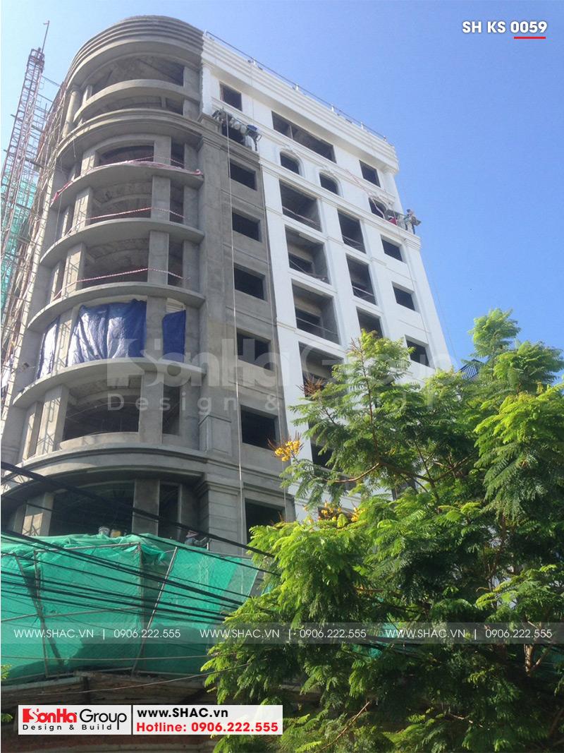 Khách sạn 3 sao tân cổ điển kết hợp căn hộ cho thuê tại Đà Nẵng – SH KS 0059 12