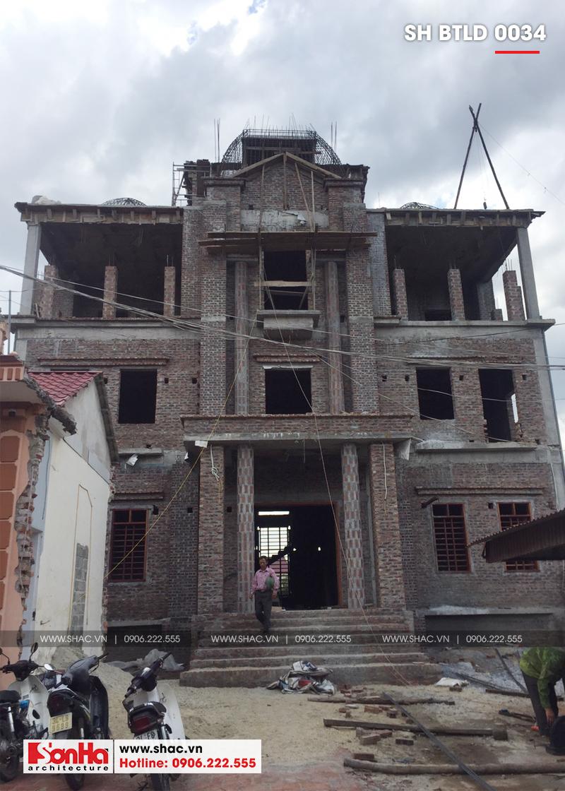 Xuất hiện biệt thự lâu đài 4 tầng đẹp nhất Việt Nam tại Hải Dương – SH BTLD 0034 15