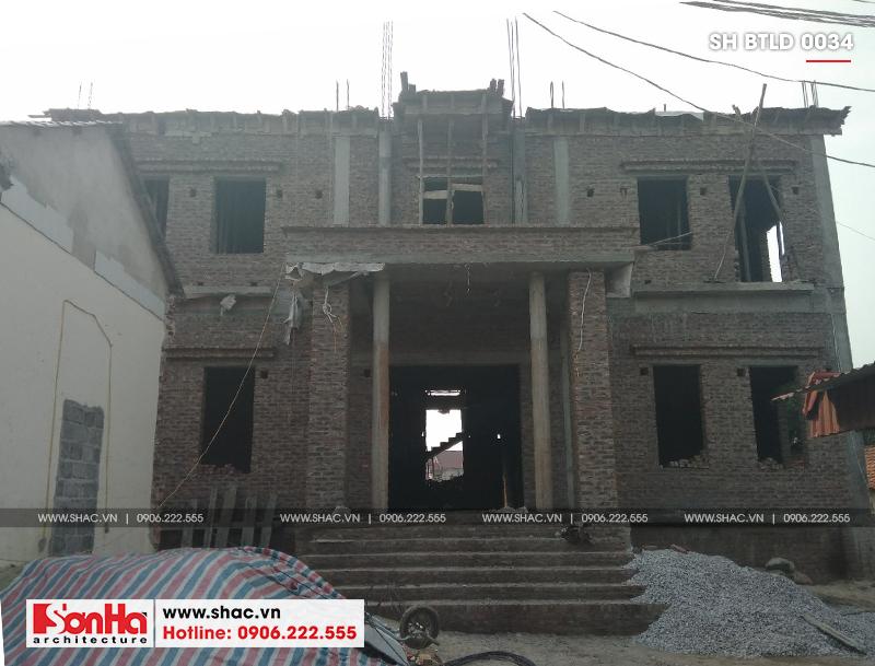 Xuất hiện biệt thự lâu đài 4 tầng đẹp nhất Việt Nam tại Hải Dương – SH BTLD 0034 17