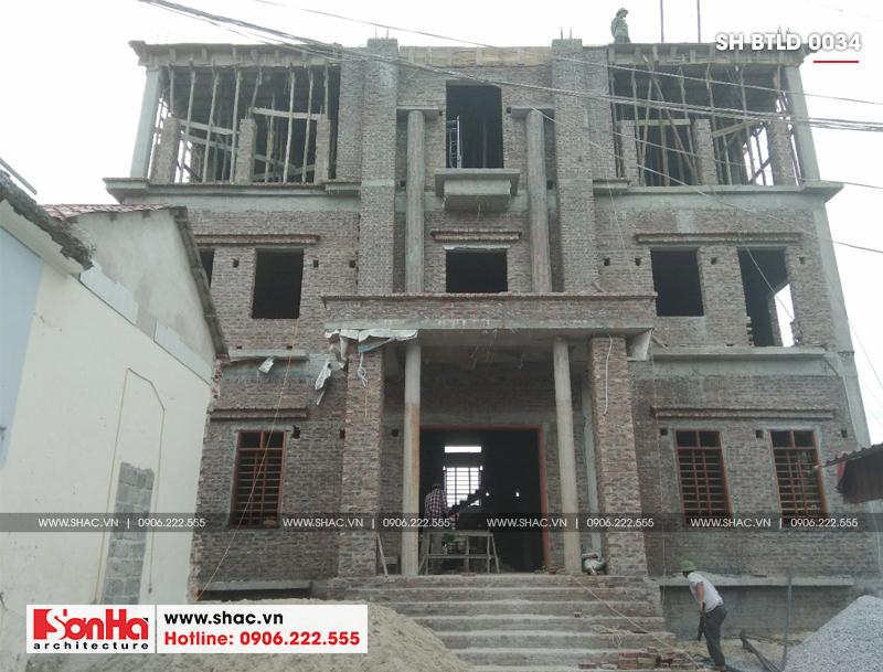 Xuất hiện biệt thự lâu đài 4 tầng đẹp nhất Việt Nam tại Hải Dương – SH BTLD 0034 20