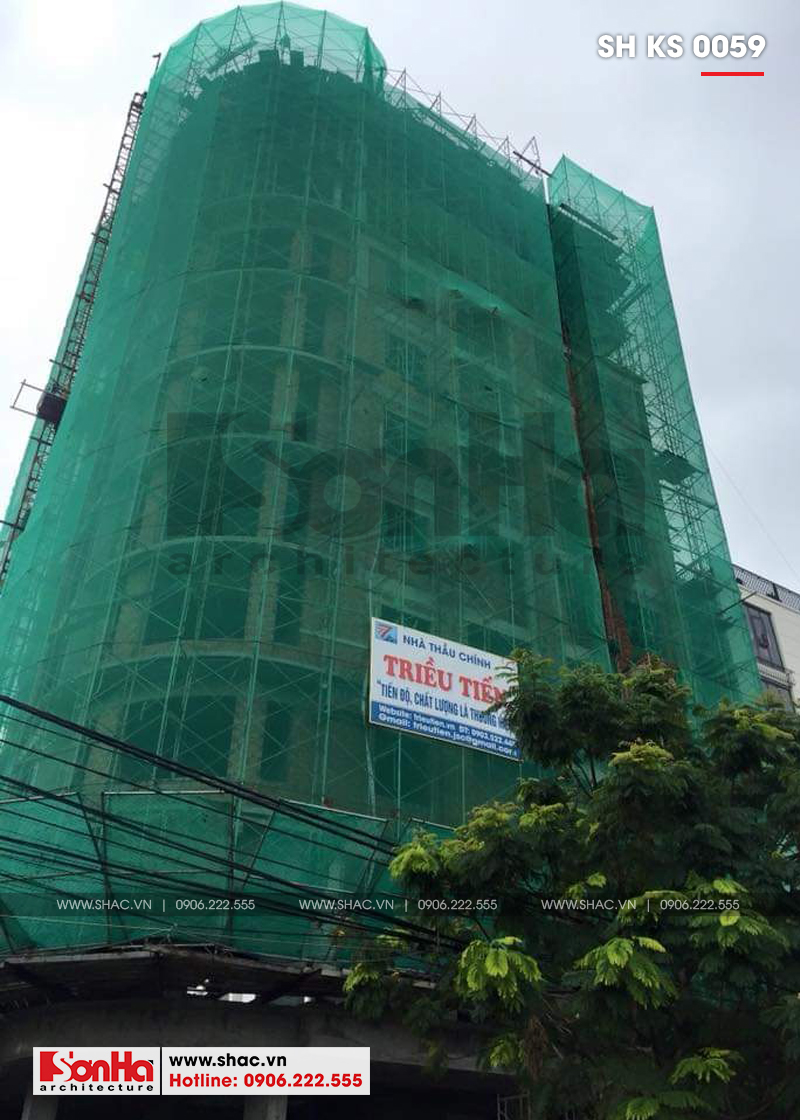 Khách sạn 3 sao tân cổ điển kết hợp căn hộ cho thuê tại Đà Nẵng – SH KS 0059 14