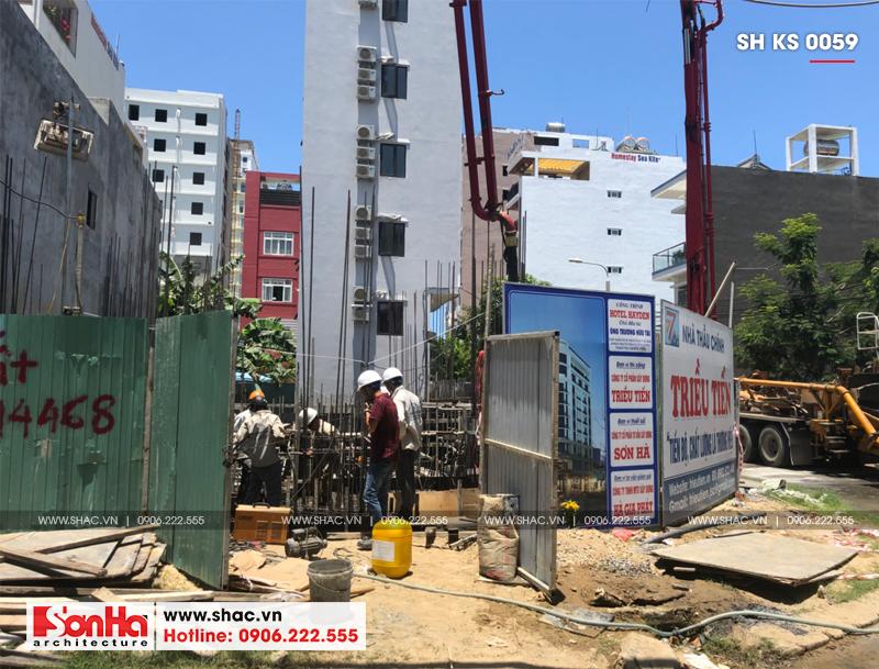 Khách sạn 3 sao tân cổ điển kết hợp căn hộ cho thuê tại Đà Nẵng – SH KS 0059 16