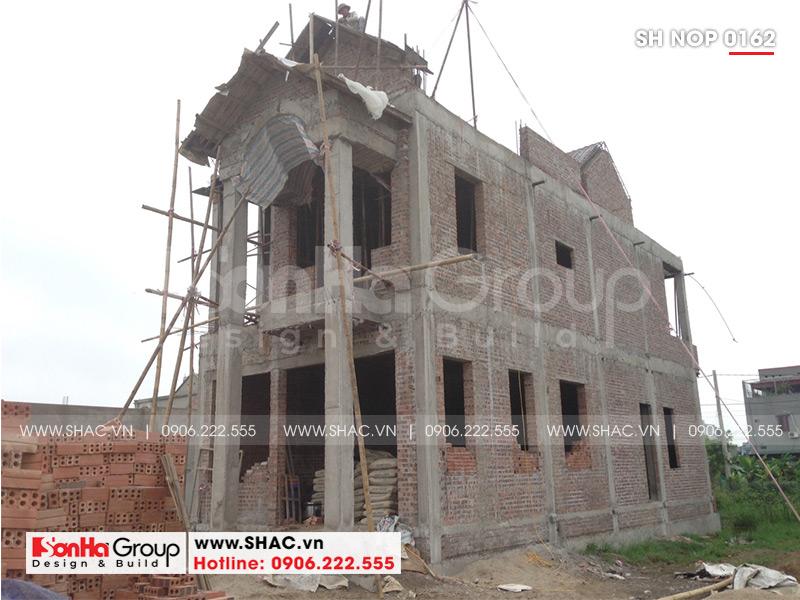 Mẫu nhà phố tân cổ điển kiểu Pháp 3 tầng diện tích 6mx20 tại Ninh Bình - SH NOP 0162 9