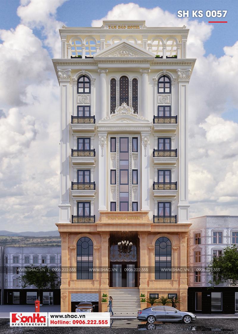 Hình ảnh khách sạn đẹp tân cổ điển 3 sao điển hình xu hướng thiết kế khách sạn năm