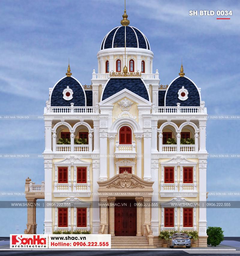 Xuất hiện biệt thự lâu đài 4 tầng đẹp nhất Việt Nam tại Hải Dương – SH BTLD 0034 1