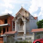 1 Thiết kế kiến trúc nhà ống tân cổ điển pháp đẹp tại ninh bình sh nop 0162