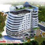 1 Thiết kế kiến trúc phương án 1 khách sạn hiện đại 5 sao tại phú quốc sh ks 0058