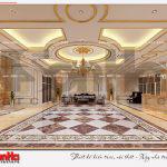 1 Thiết kế nội thất sảnh trung tâm thương mại dịch vụ tại sài gòn