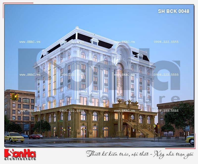 Thiết kế nhà hàng và khu dịch vụ tổng hợp tại Hải Phòng – SH BCK 0048 5