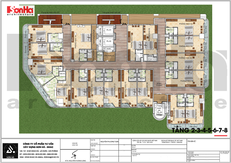Thiết kế khách sạn hiện đại tiêu chuẩn 5 sao 1078,5m2 tại Phú Quốc - SH KS 0058 10