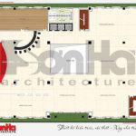 10 Mặt bằng công năng tầng 6 nhà hàng kiến trúc tân cổ điển tại hải phòng sh bck 0048