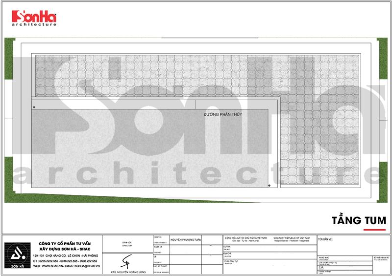 Thiết kế khách sạn 3 sao tân cổ điển tại Hải Phòng - SH KS 0056 12