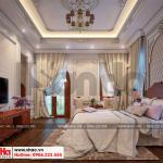 10 Mẫu nội thất phòng ngủ 2 biệt thự pháp cổ điển tại cần thơ sh btp 0120