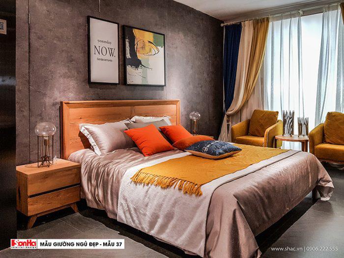 100+ Mẫu giường ngủ đẹp tạo lên thiết kế nội thất phòng ngủ đẳng cấp và xa hoa (37)