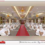 11 Thiết kế nội thất sảnh tầng 9 trung tâm thương mại và dịch vụ tại sài gòn