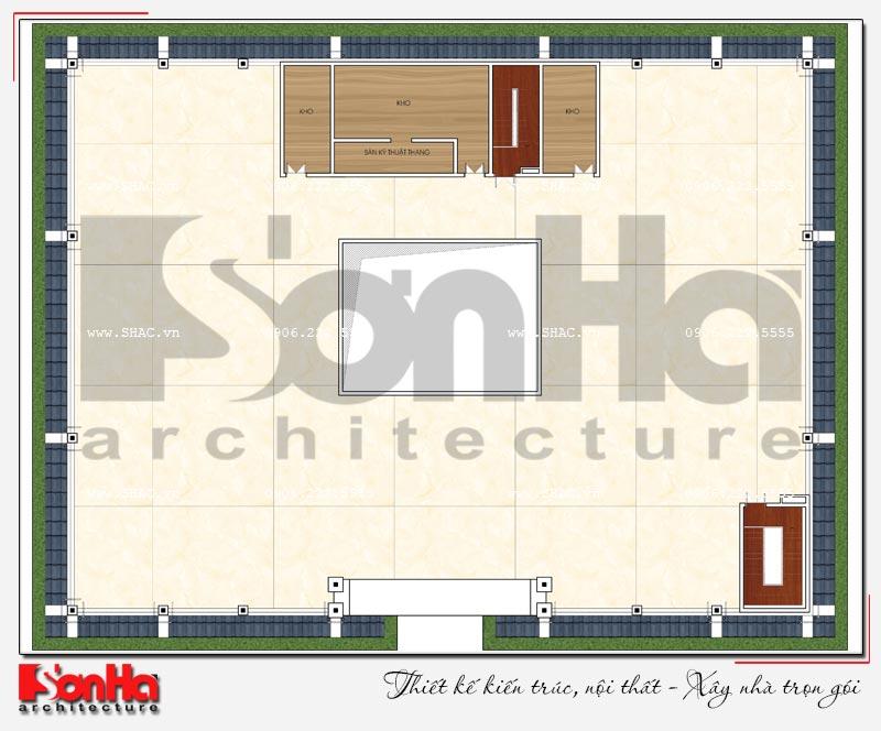 Thiết kế nhà hàng và khu dịch vụ tổng hợp tại Hải Phòng – SH BCK 0048 13
