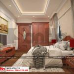 13 Thiết kế nội thất phòng ngủ 5 biệt thự pháp cổ điển tại cần thơ sh btp 0120