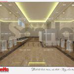 13 Thiết kế nội thất wc trung tâm thương mại dịch vụ tại sài gòn