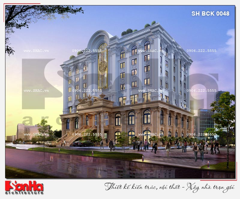 Thiết kế nhà hàng và khu dịch vụ tổng hợp tại Hải Phòng – SH BCK 0048 3
