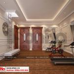 15 Thiết kế nội thất phòng tập biệt thự pháp đẹp tại cần thơ sh btp 0120
