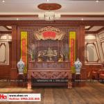 16 Mẫu nội thất phòng thờ biệt thự pháp cổ điển tại cần thơ sh btp 0120