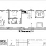 19 Mặt bằng công năng tầng 1 biệt thự cổ điển đẹp tại cần thơ sh btp 0120