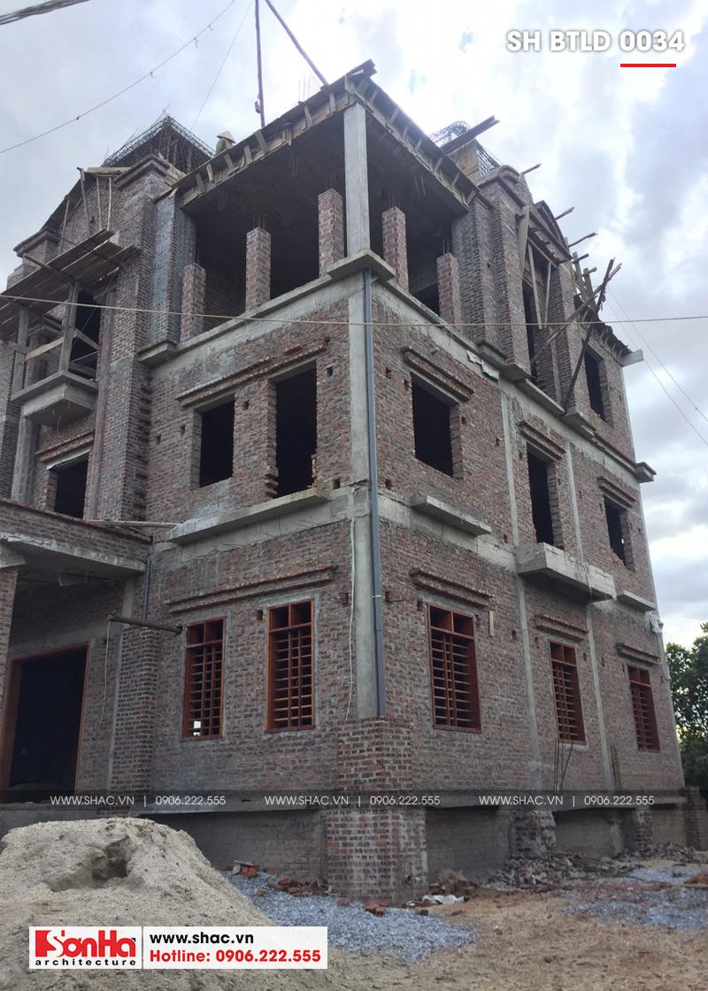 Xuất hiện biệt thự lâu đài 4 tầng đẹp nhất Việt Nam tại Hải Dương – SH BTLD 0034 16
