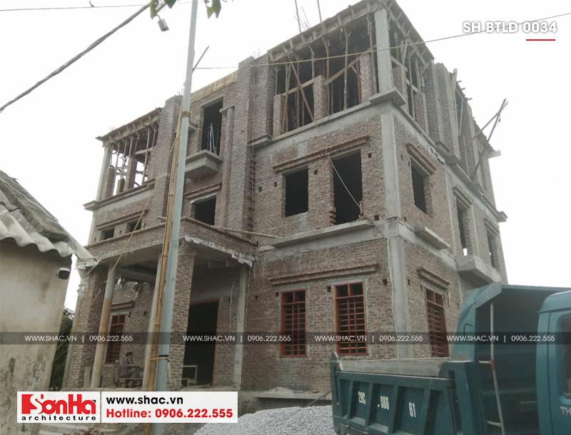 Xuất hiện biệt thự lâu đài 4 tầng đẹp nhất Việt Nam tại Hải Dương – SH BTLD 0034 18
