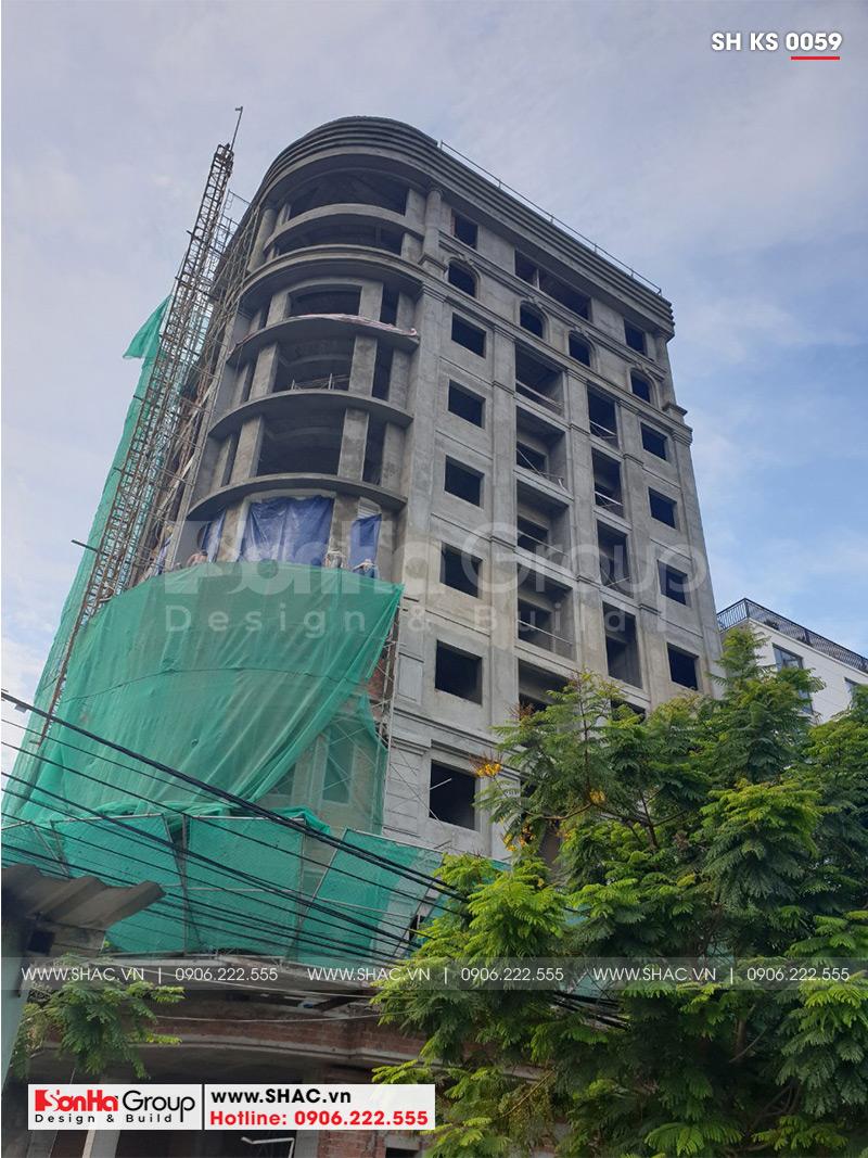 Khách sạn 3 sao tân cổ điển kết hợp căn hộ cho thuê tại Đà Nẵng – SH KS 0059 13